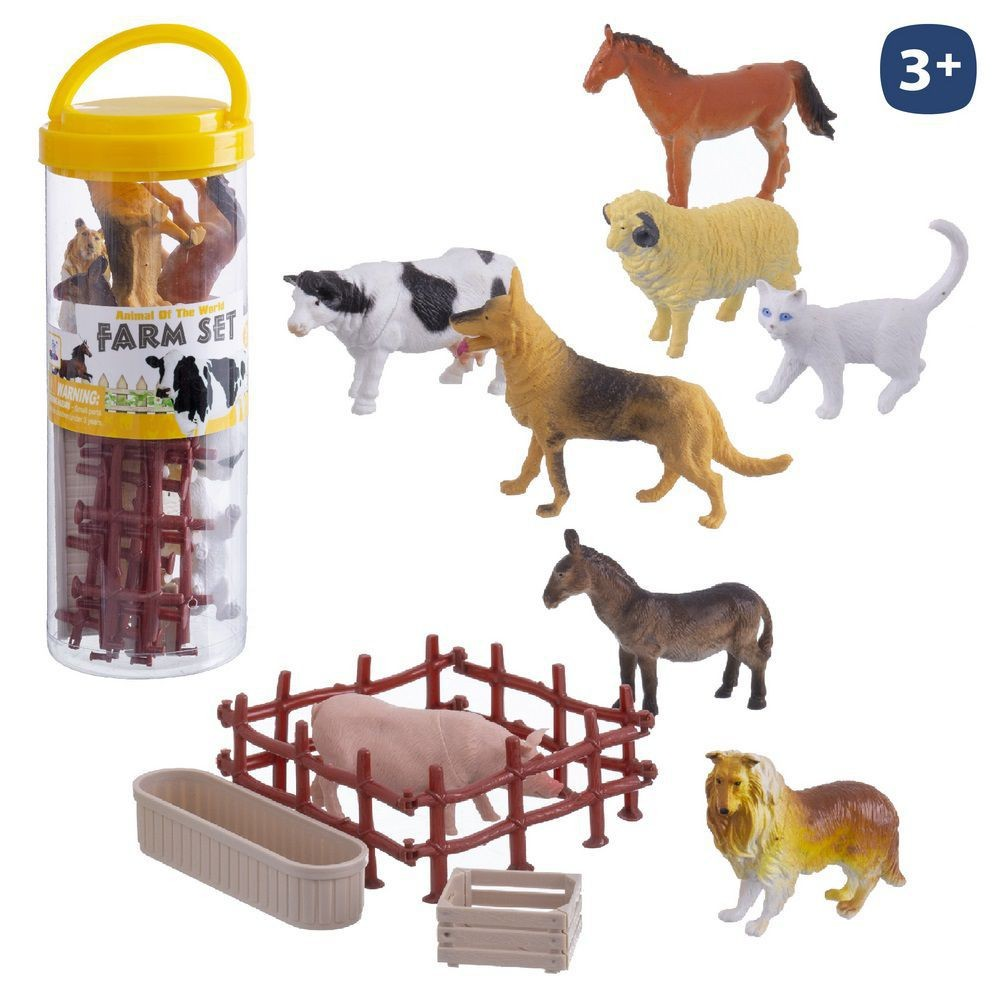 S / 12 FARM ANIMALS