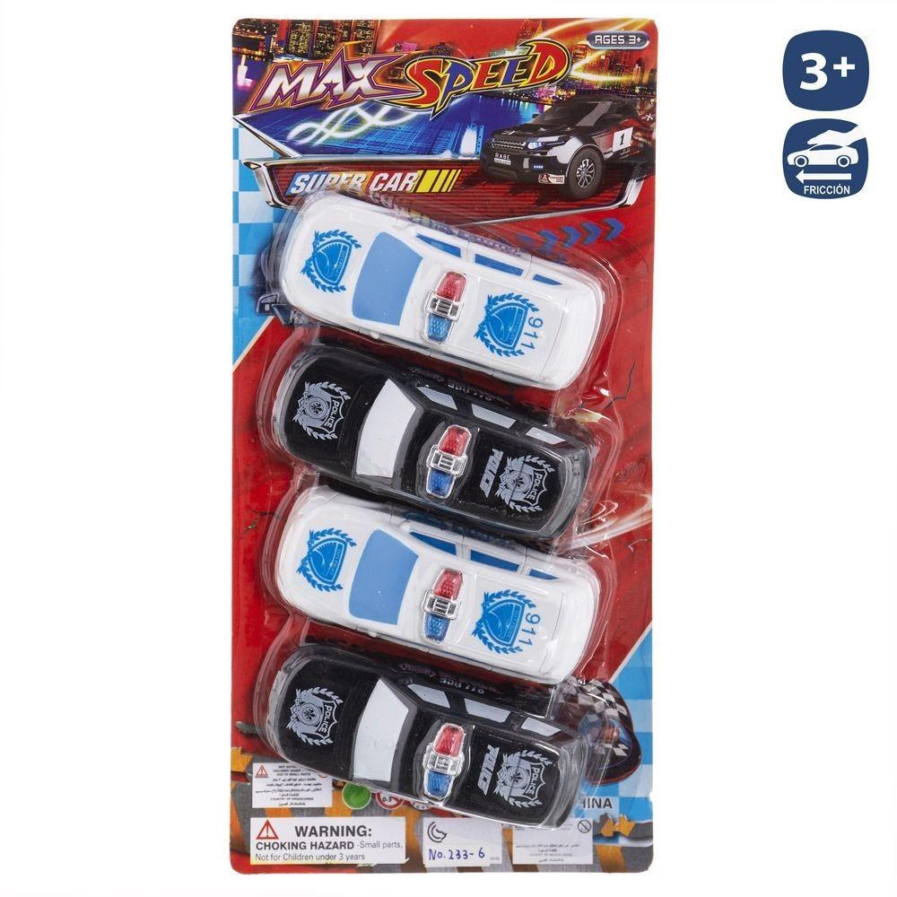 S / 4 POLICE CAR