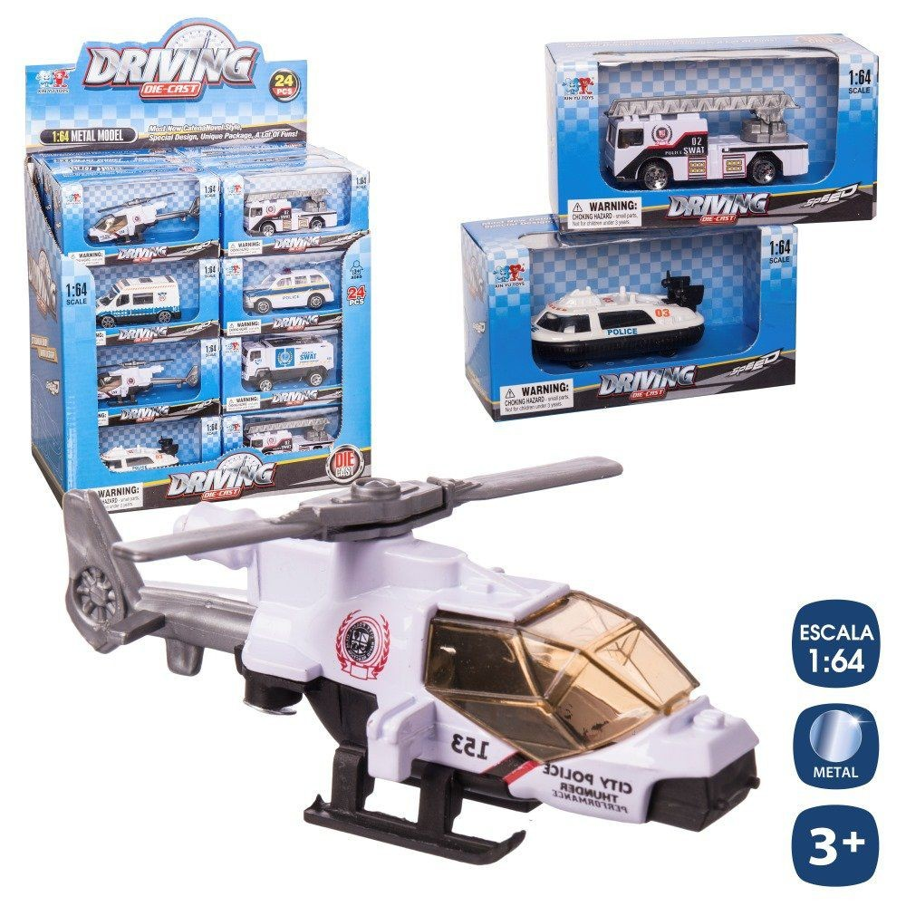 POLICE HELICOPTER 6 / M