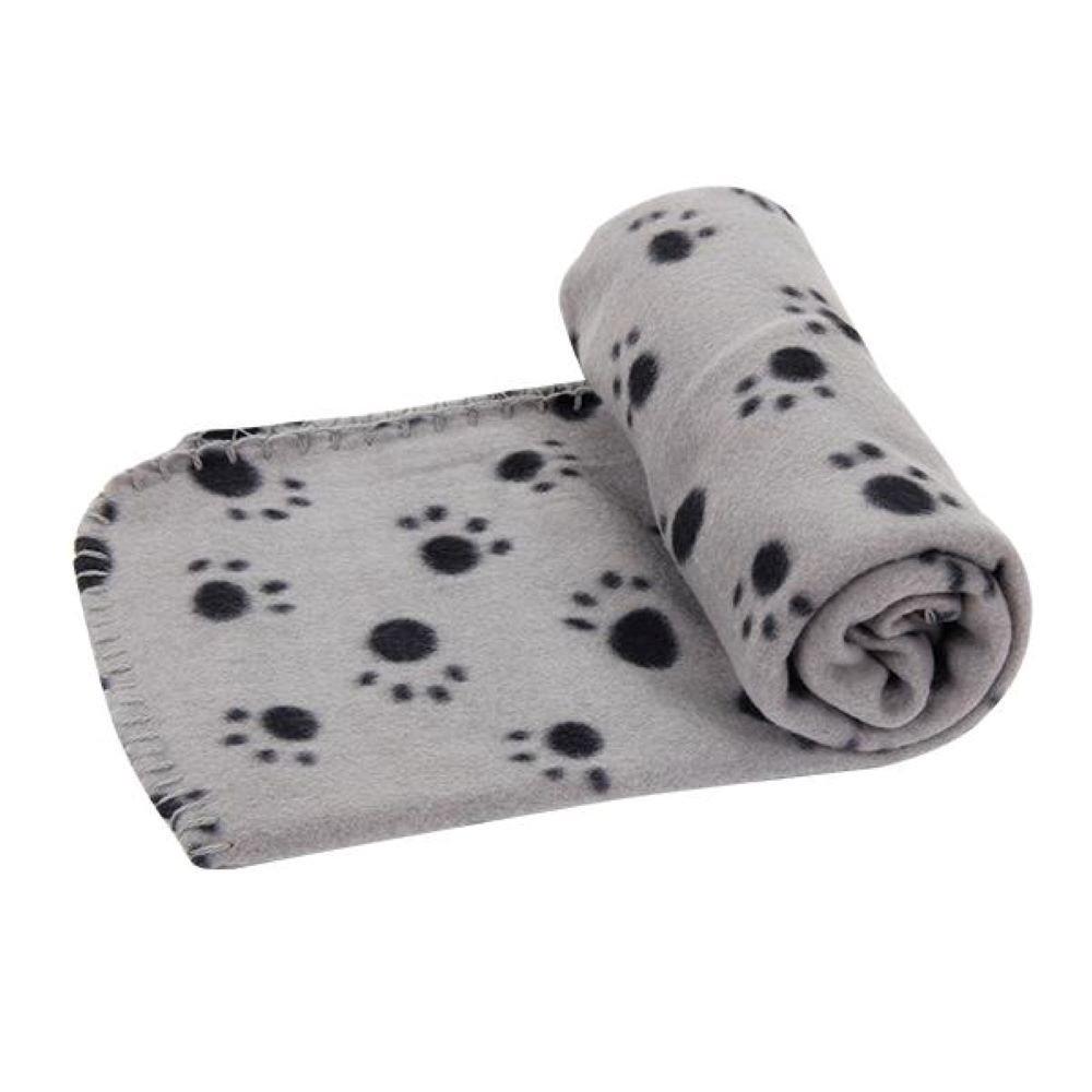 Gray pet blanket