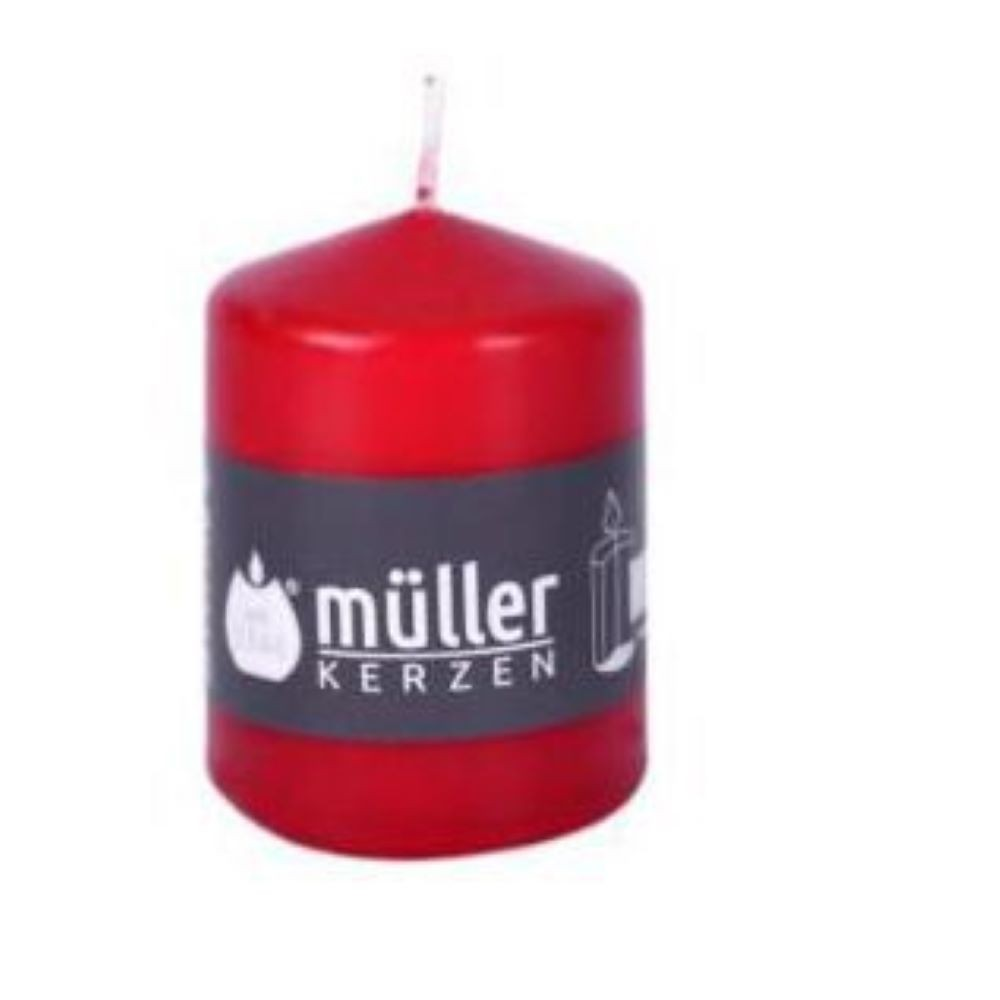 RED CANDLE 10 CM