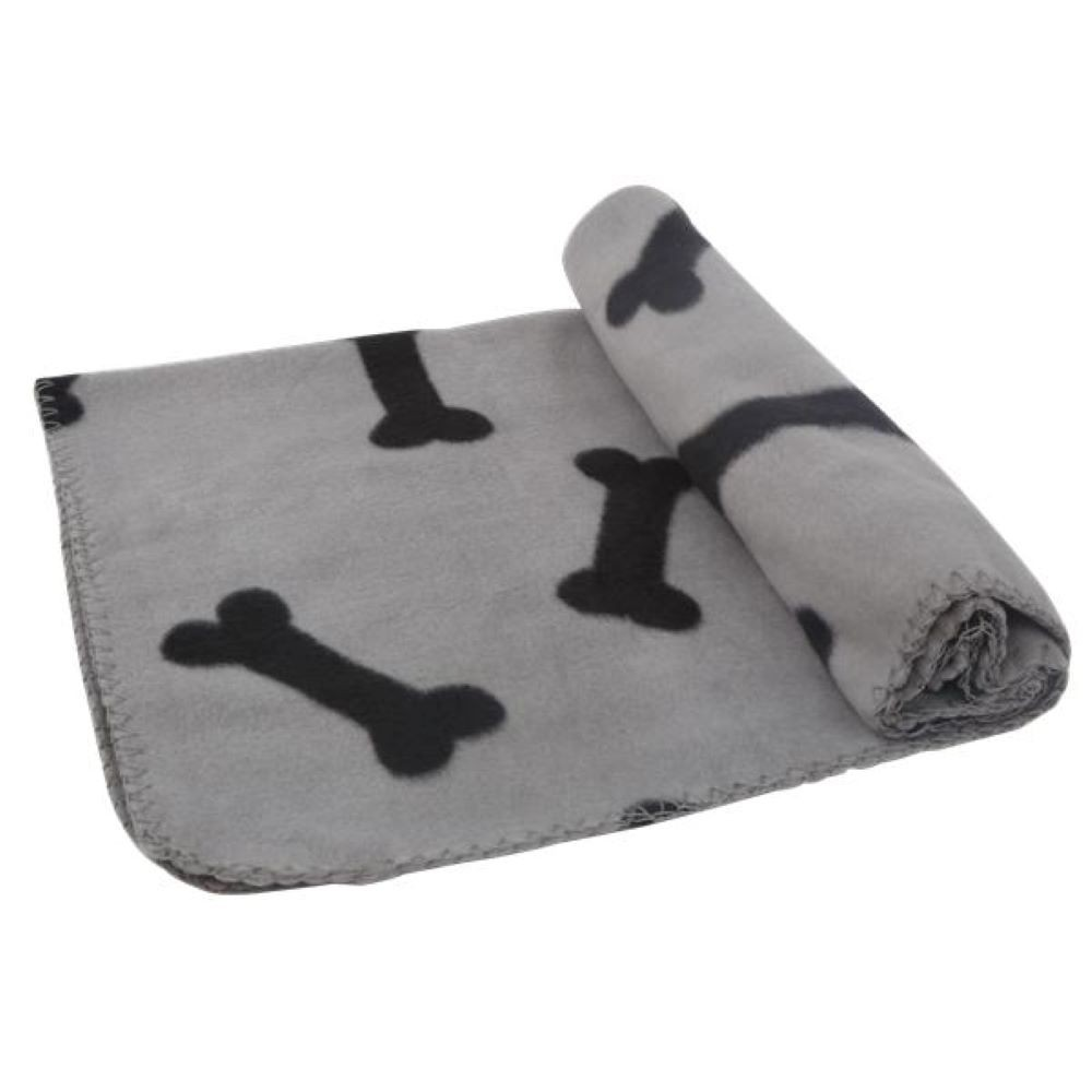 Gray / bone pet blanket 220G