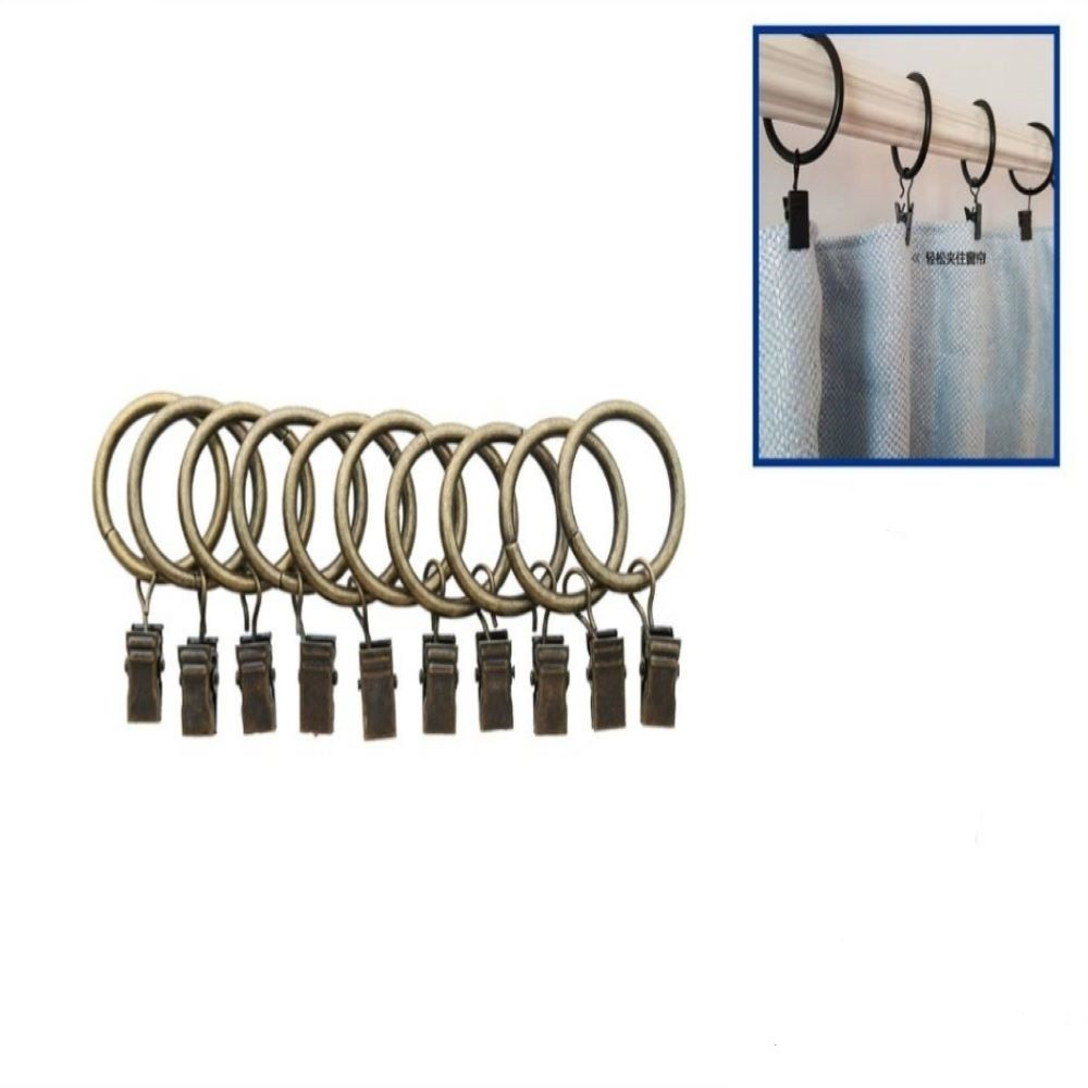 S10 BRONZE CURTAIN RINGS