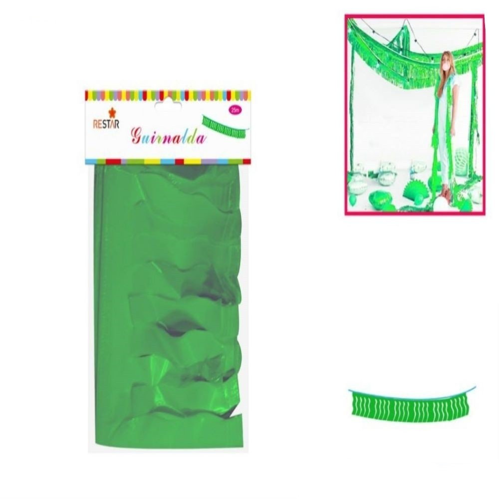 PARTY GARLAND- GREEN