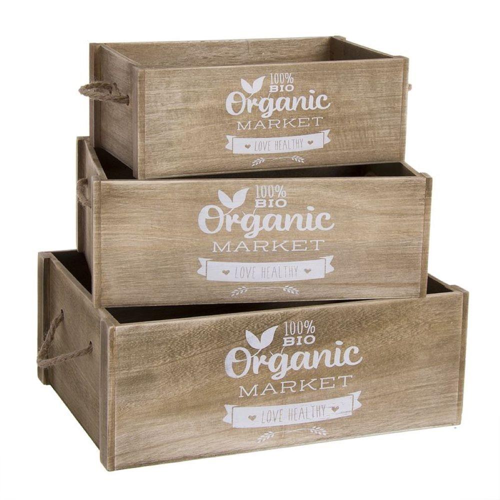 ORGANIC WOOD BOX- 40X28