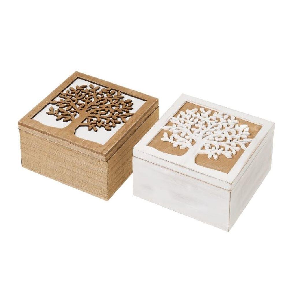 BOX-TREE LIFE BROWN / WHITE