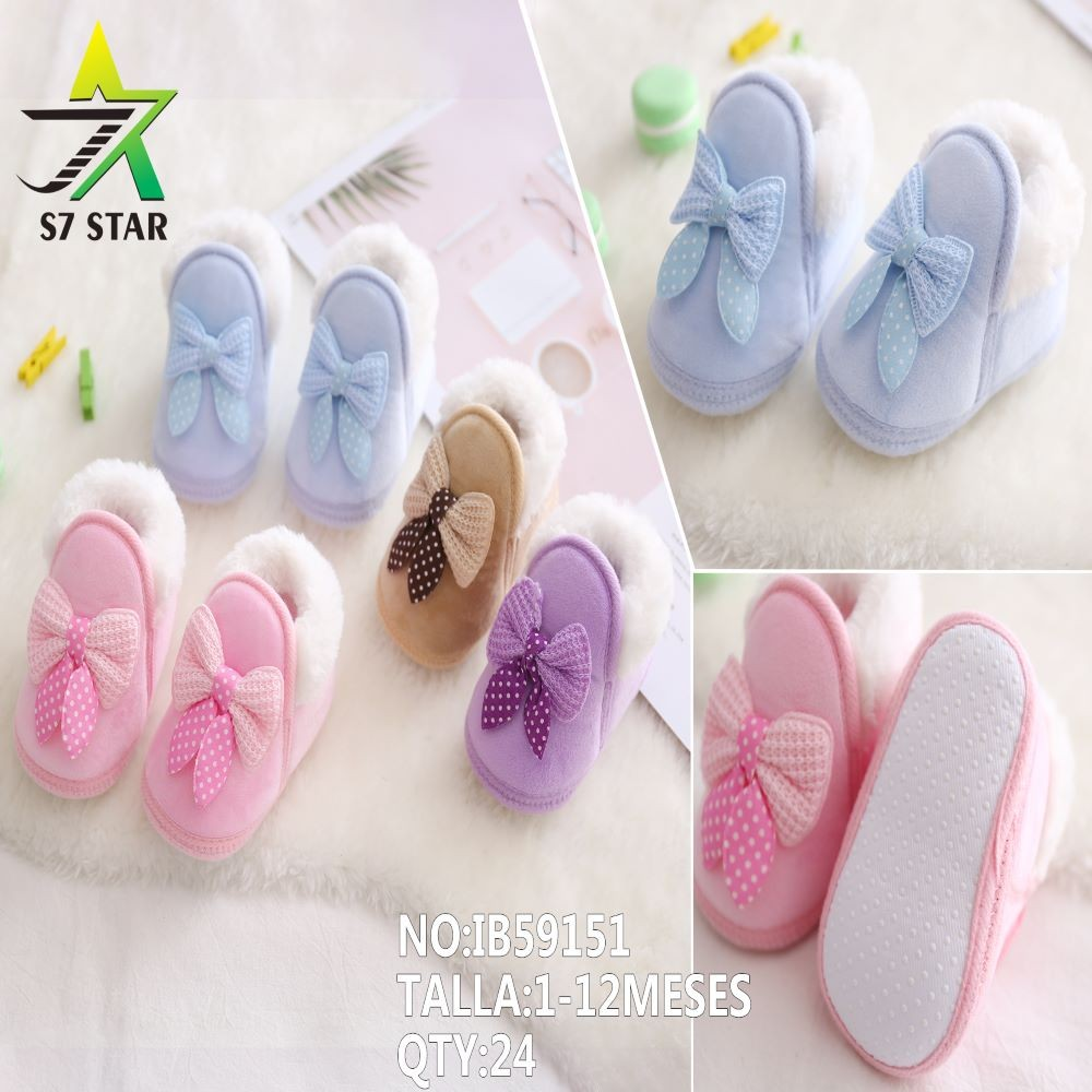 Baby shoes C / bow