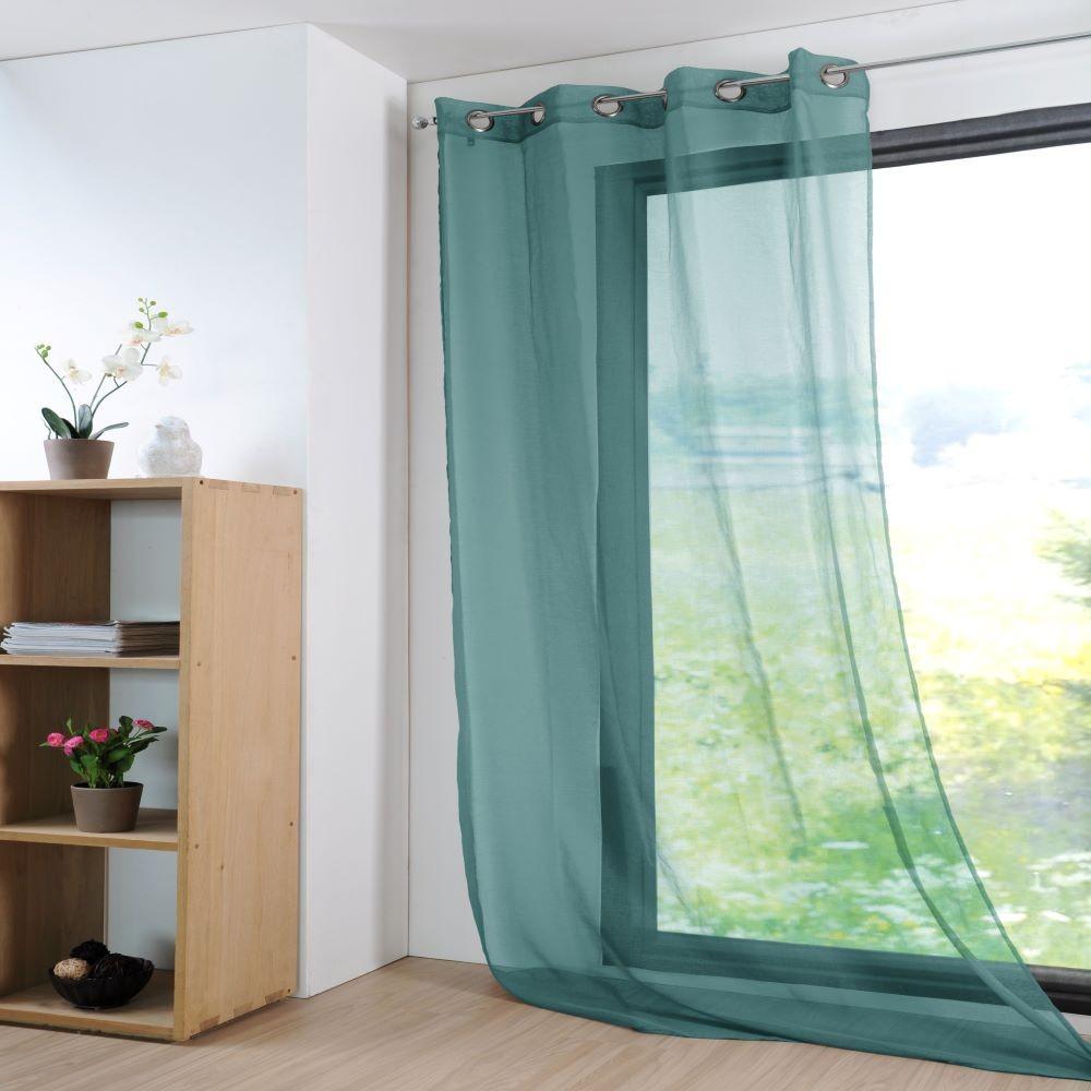 GREEN curtain / veil