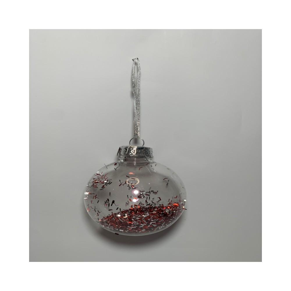 Transparent Christmas ball...