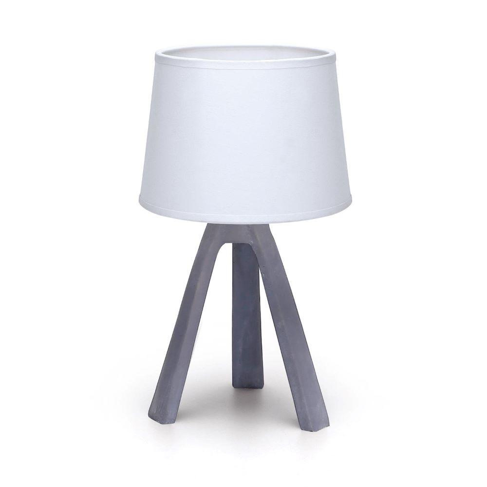 WHITE / GRAY TABLE LAMP