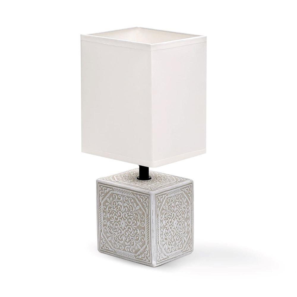 CERAMIC / WHITE LAMP